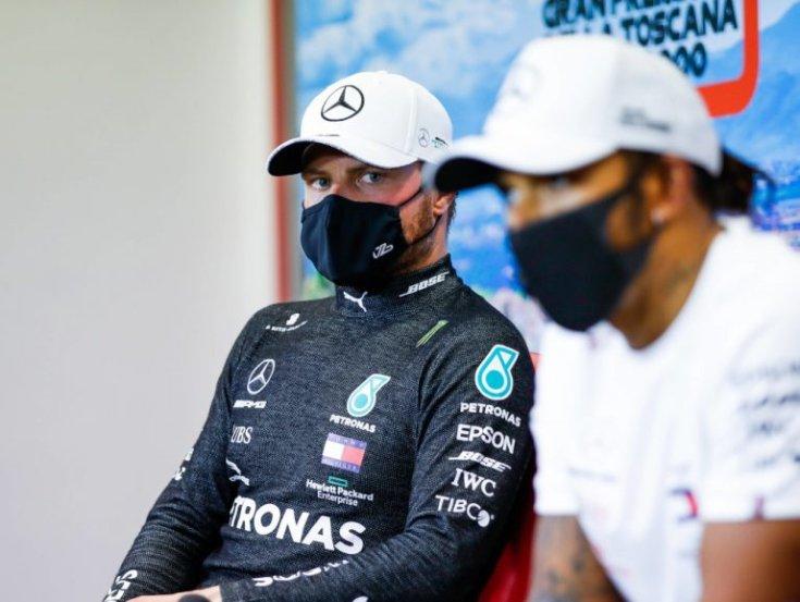 Bottas és Hamilton