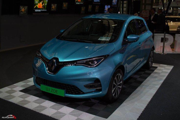 2019-es Renault Zoe RS Trophy a Budapest Auto Show kiállításon