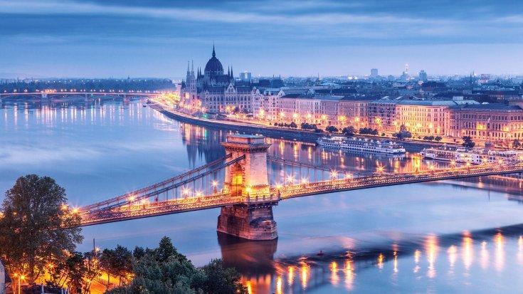 Budapest lánchíd látkép