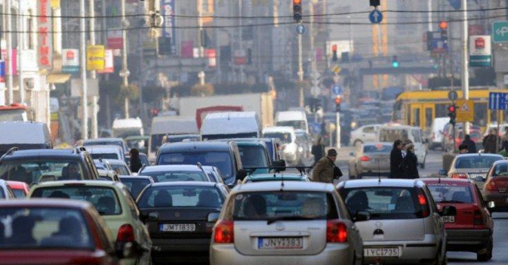 Budapesti autóforgalom