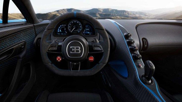 Bugatti Chiron Pur Sport beltér
