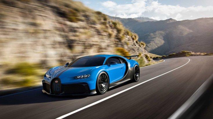 Bugatti Chiron Pur Sport 1500 lóerő