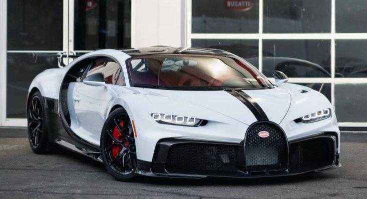 Bugatti Chiron Pur Sport szemből