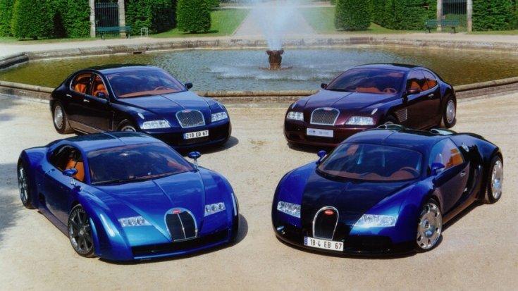 Bugatti EB tanulmányautók