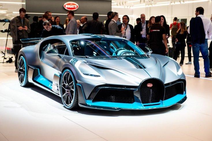 Bugatti Divo a Genfi Autószalonon