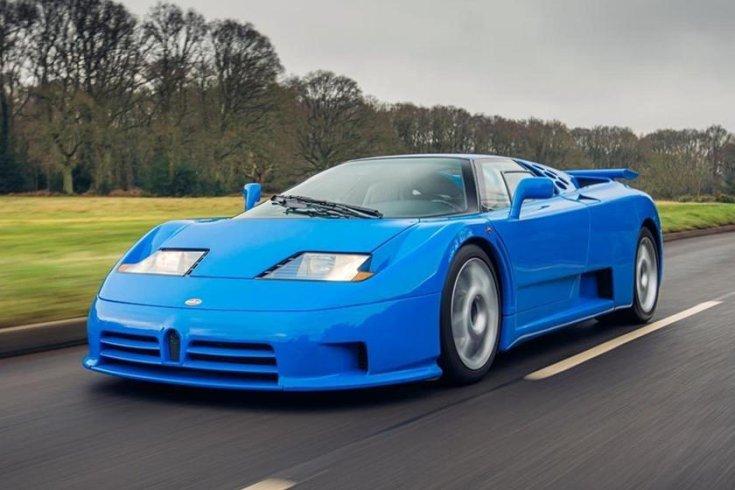 Bugatti EB110 SS szemből