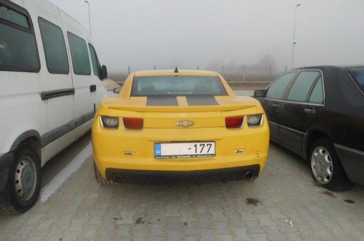 Chevrolet Camaro hátulról