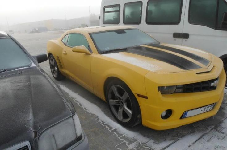 Chevrolet Camaro oldalról