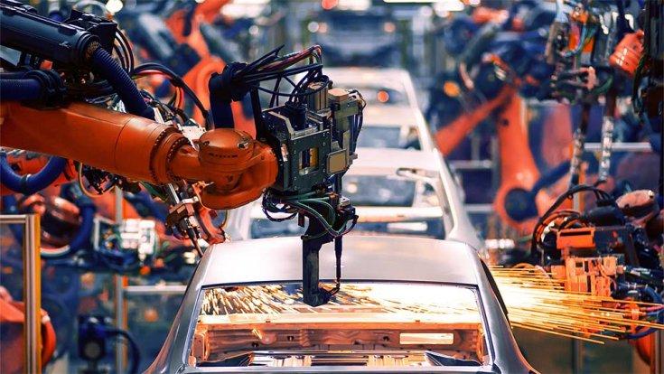autók a gyártósoron