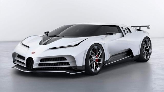 Bugatti Centodieci elölről