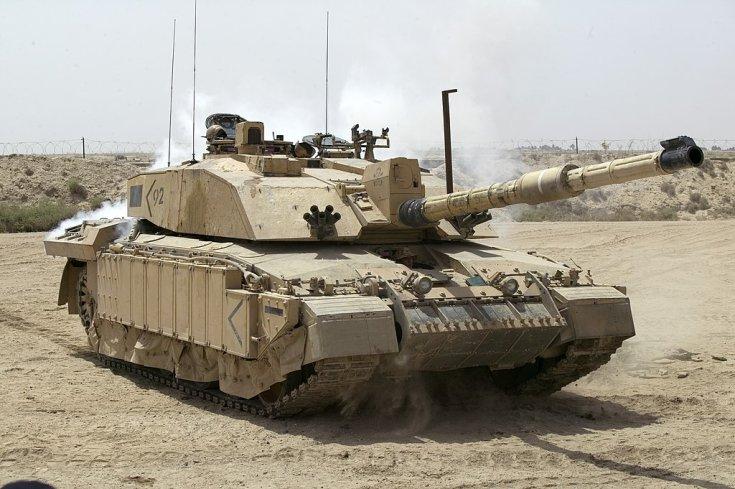 Challenger 2, sivatagi terepen