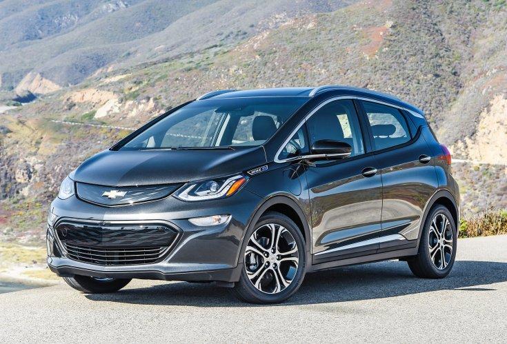 2020-as Chevrolet Bolt EV szemből