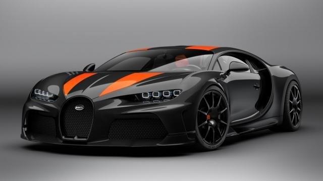 Bugatti Chiron Super Sport 300+ elölről