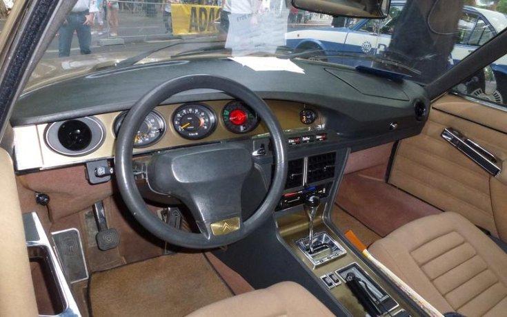 Citroën SM belső