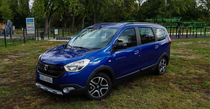 2020-as Dacia Lodgy elölről