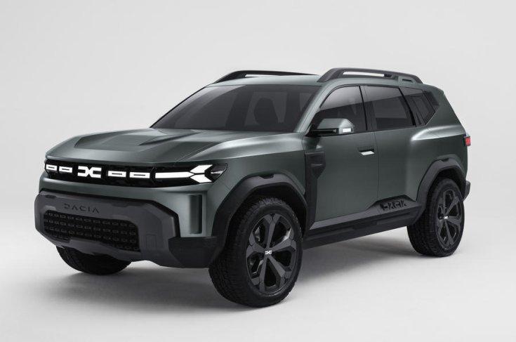 Dacia Bigster koncepció