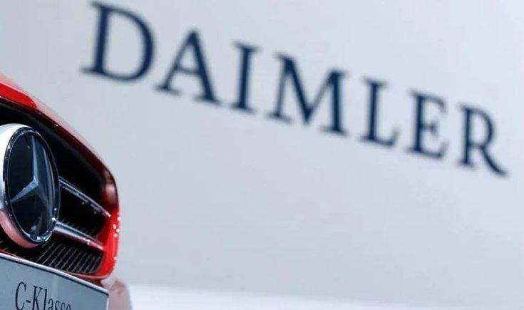 Daimler-Mercedes logo