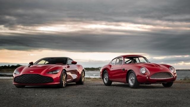Aston Martin DBZ Centenary Edition modellek