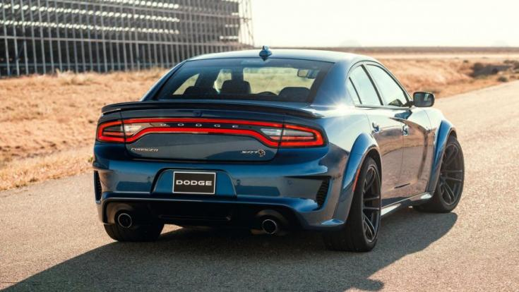 Dodge Charger SRT Hellcat Widebody hátsó