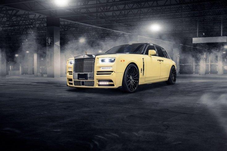 Mansory tuning Rolls-Royce Phantom
