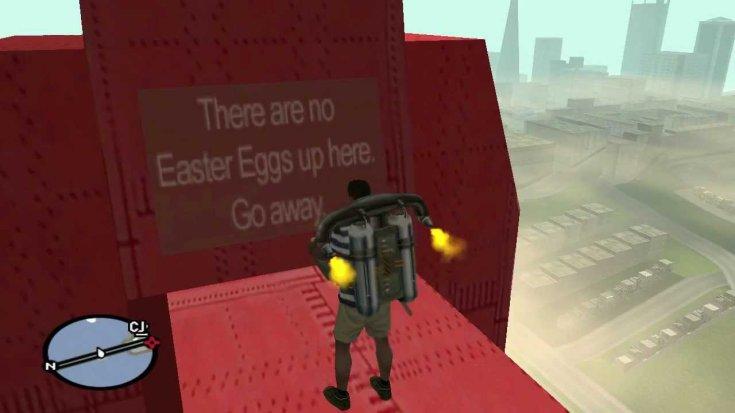Easter Egg a GTA: San Andreasban