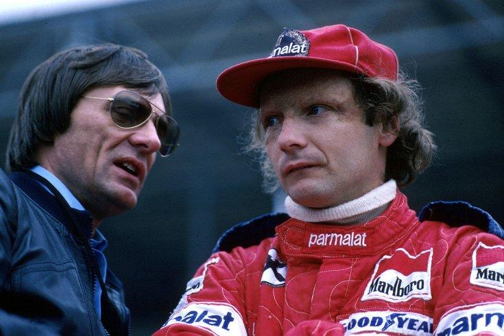 Ecclestone és Lauda