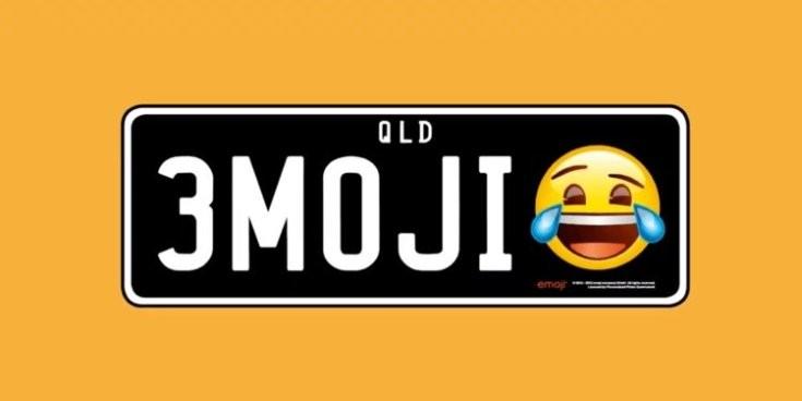 Queenslandben a két szám és három betű kombinációja mellé egy emoji is kérhető