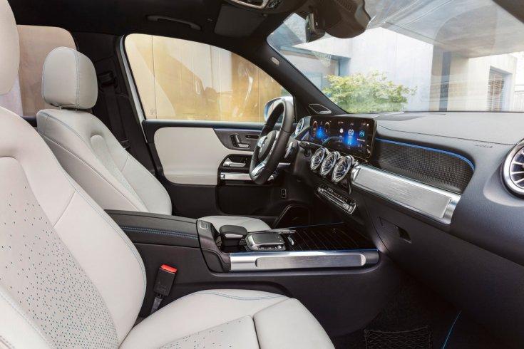 Mercedes-Benz EQB utastere