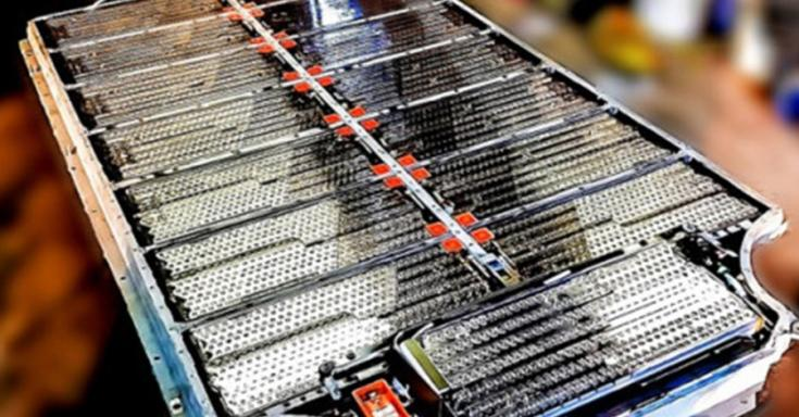 Tesla Model S akkumulátorának részegységei