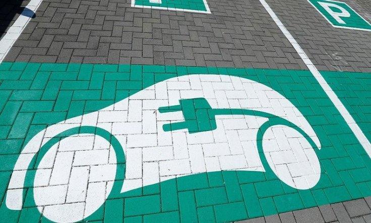 EV modellek parkolóhelye
