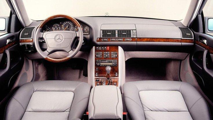 Mercedes W140 utastere