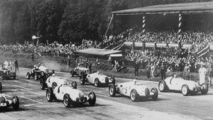 Donington Park, 1937