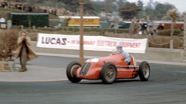 régi F1-es autó