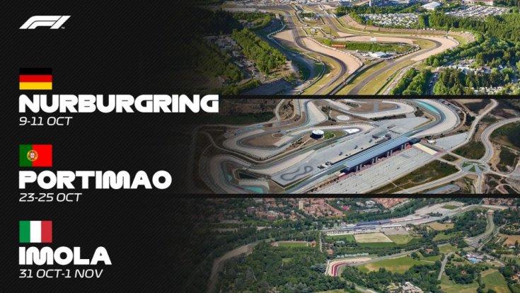 F1 új versenyek