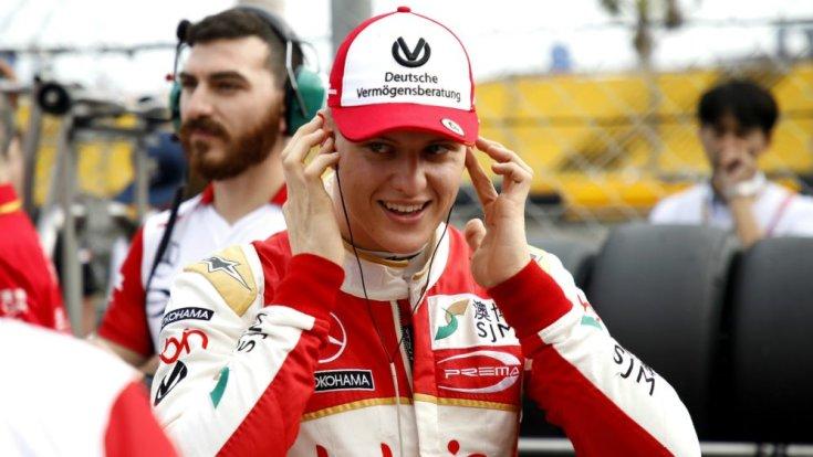 Mick Schumacher úton a Forma-1 felé