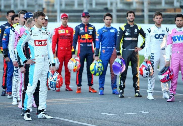 F1-es pilóták