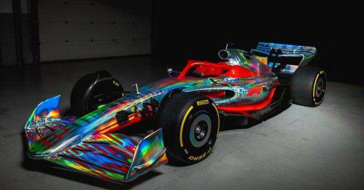 2022-es F1-es autó koncepció