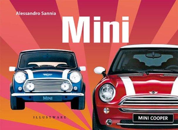 veterán autós könyv borítója, Alessandro Sannia, Mini c. könyve, fedőlap képe