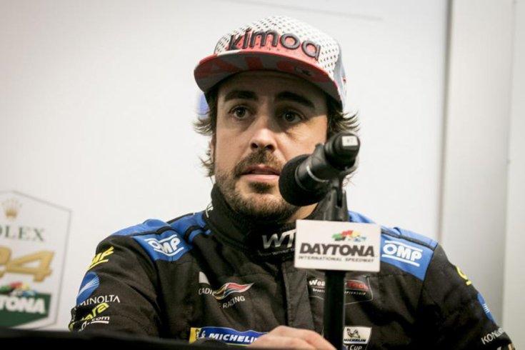 Fernando Alonso közelről