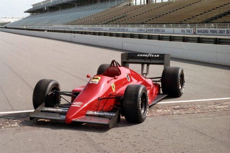 Ferrari 637-es Indianapolisban 1993-ban