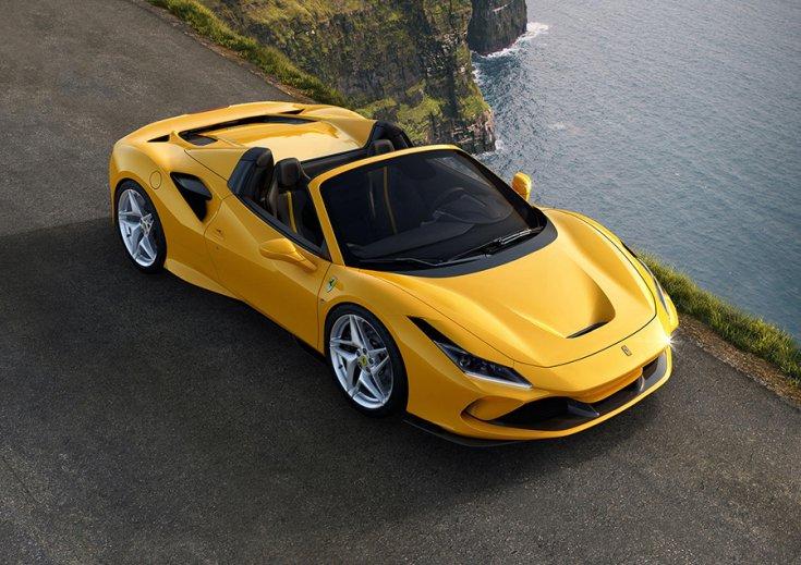 A Ferrari F8 Tributo Spider