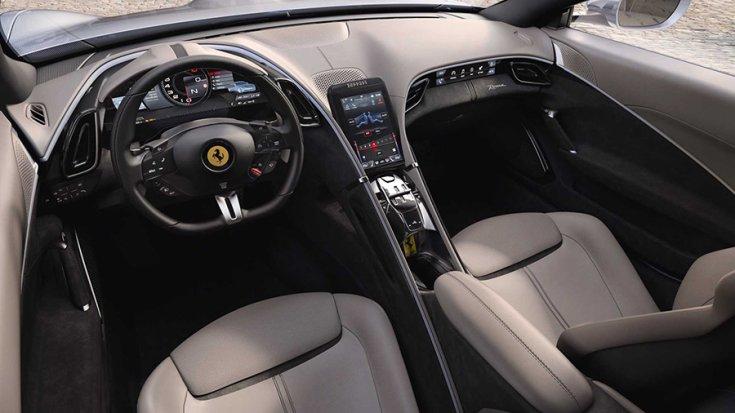 A Ferrari Roma beltere