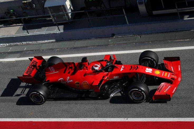 Ferrari F1-es autó, Charles Leclerc a volán mögött