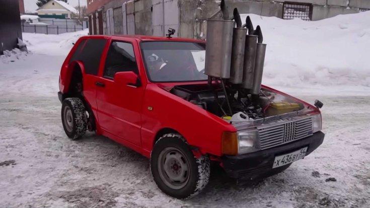 Garage 54 Fiat Uno orosz tuning