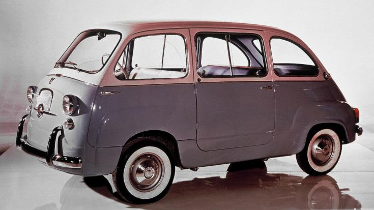 Fiat 600 Multipla, stúdiókép