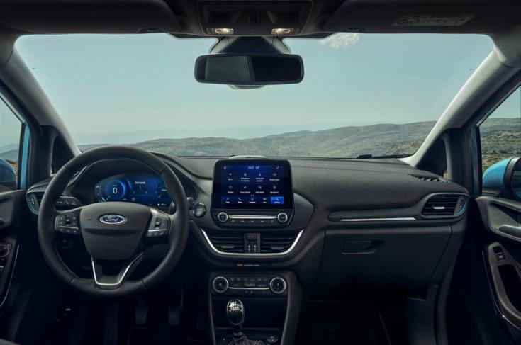 Az új Ford Fiesta utastere