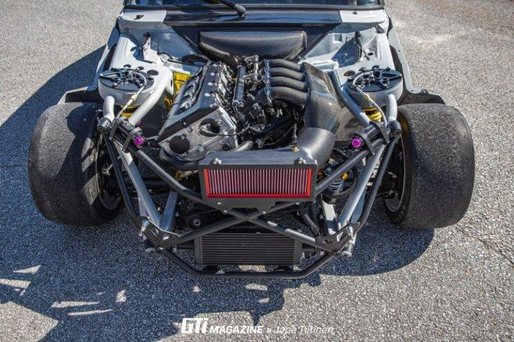 Ford Escort MK2 tuning csőváz