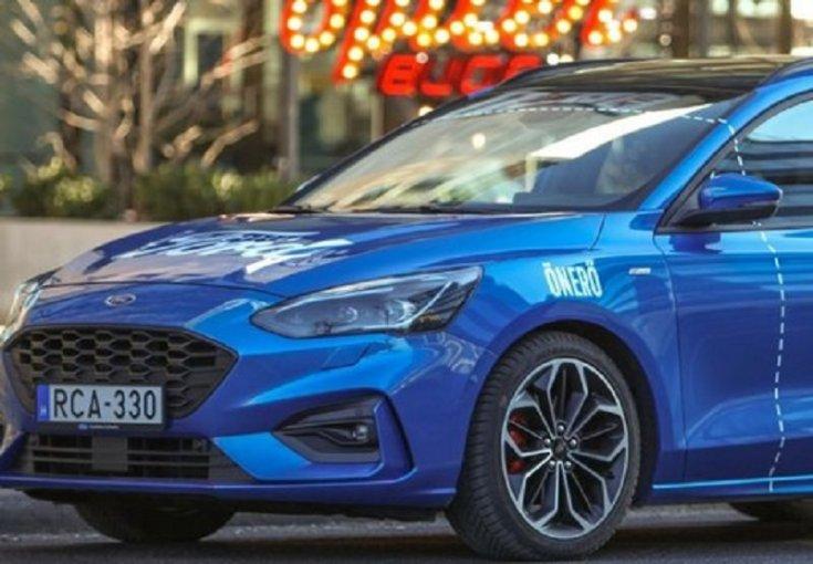 Ford Focus kombi eleje