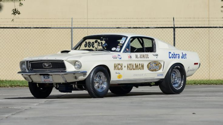Az 1968-as Ford Mustang 428 Cobra Jet