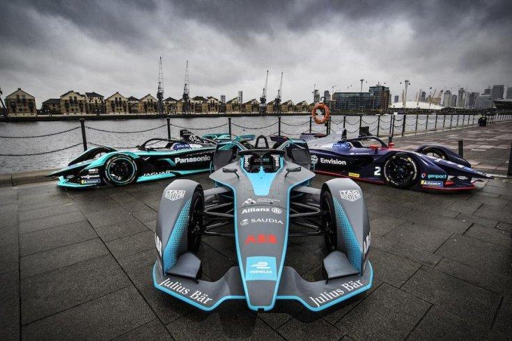 Formula-e autók Londonban